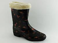 Женские резиновые сапоги на осень