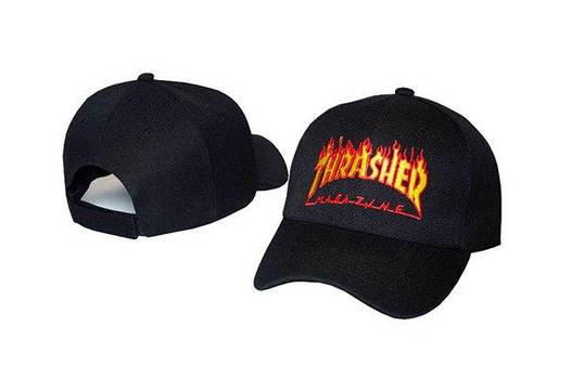 Черная кепка бейсболка Thrasher