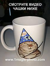 Чашка мем Кіт Вжух!
