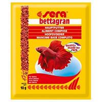 Sera bettagran корм для рыб петушков, 10г