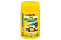 Sera Flora  растительный корм для рыб в виде хлопьев, 10000мл