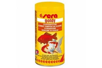 Корм Sera Goldy (Голди) для золотых рыбок в виде хлопьев, 100 мл