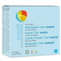 Стиральный порошок для стирки цветных тканей Нейтральный, 1,2 кг, Sonett