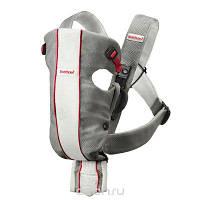 Рюкзак-кенгуру для переноски ребенка Carrier Original (Grey/White, Mesh) BabyBjorn серо-белый
