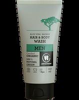 Органическое мужское средство для мытья головы и тела Urtekram 150мл.