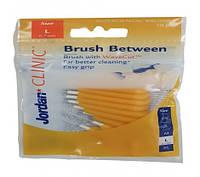 Межзубные ершики Jordan Brush Between L (0,7 mm) 10 шт, 10 шт, Jordan
