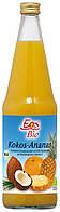 Органический сок Кокос-ананас Eos Bio 0,7 л