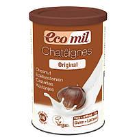 Органическое растительное сухое молоко из каштанов, 400 г, EcoMil