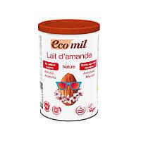 Органическое растительное сухое молоко из миндаля без сахара, 400 г, EcoMil