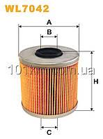 Фильтр масляный WIX WL7042 (OM523)