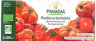 Органическое томатное пюре, 3х200 г, 600 г, Primeal