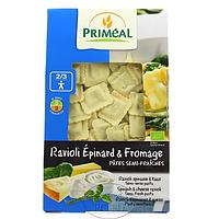 Органические равиоли с начинкой из шпината и сыра Primeal, 250 г