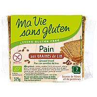 Органический безглютеновый хлеб с семенами льна, 375 г, Ma Vie Sans Gluten