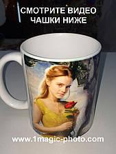 Чашка красавица и чудовище