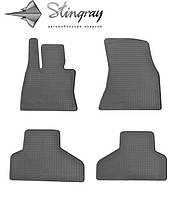 Коврики резиновые в салон BMW X6 (F16) 2014- Комплект из 4-х ковриков Черный в салон. Доставка по всей Украине. Оплата при получении