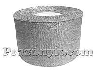 Лента серебро 5 см