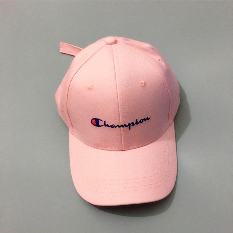 Рожева кепка бейсболка Champion (Чемпіон) чоловіча жіноча