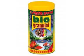 Sera pond biogranulat - корм в виде плавающих палочек для всех прудовых рыб, 21000мл