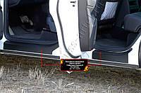 Накладки на внутренние пороги дверей Volkswagen Touareg 2014+ г.в.