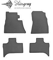 Купить коврики в салон BMW X5 (E53) 1999- Комплект из 4-х ковриков Черный в салон. Доставка по всей Украине. Оплата при получении