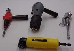 Кутові адаптери для дрилі і шуруповерт