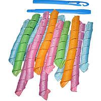Волшебные бигуди для волос любой длины Hair Wavz, бигуди-спиральки