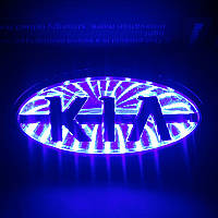 Дверной логотип LED LOGO 100 KIA , светодиодный логотип