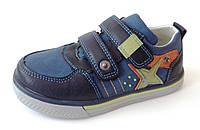 Туфли, кроссовки качественные для мальчика р.27-32 ТМ Clibee P100 blue