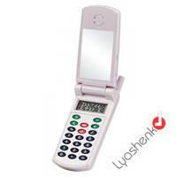 Калькулятор в виде телефона КК 5853, карманный электронный калькулятор