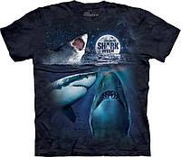 """Футболка The Mountain """"Ночь акул"""", взрослая. Размер M, XL"""