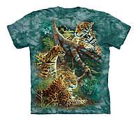 Футболка The Mountain Three Jungle Cats, детская. Размер S, M, L, XL