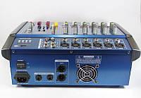 Аудио микшер Mixer BT-6200D 7ch., микшерный пульт