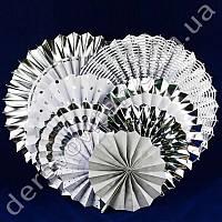 """Гармошки декоративные, набор """"Silver"""", 8 штук"""