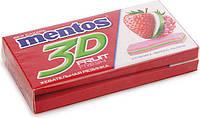 Жевательная резинка Ментос 3D Клубника-яблоко-малина