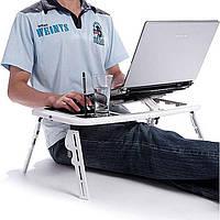 Поставка столик для ноутбука с охлаждением LD 09 E-TABLE