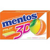 Жевательная резинка Ментос 3D Лимон-грейпфрут-апельсин