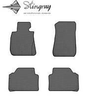 Автомобильные коврики BMW 3 (E90) 2005-2011 Комплект из 4-х ковриков Черный в салон