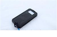 Портативное зарядное устройство с солнечной батареей и светодиодный фонарь 32800 mAh (реальная емкость 8000)