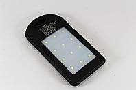 Портативное зарядное устройство с солнечной батареей и светодиодный фонарь 28000mAH (реальная емкость 6400) U