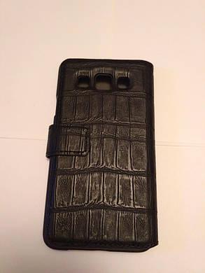 Кожаный чехол книжка Samsung Galaxy A3, фото 2