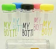 Бутылка с чехлом My bottle 360 Цветной CUP