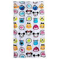 Большое детское полотенце Дисней Emoji
