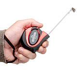 Рулетка 3м с автоматической блокировкой полотна INTERTOOL MT-0803, фото 6