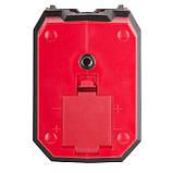 Уровень лазерный 360 град, 2 лазерные головки INTERTOOL MT-3052, фото 8