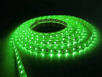 Светодиодная лента LED 3528 Green 100m 220V