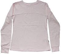 Кофточка хлопковая светло-розовая школьная для девочек, рост 152 см, 158 см,  Robinzone