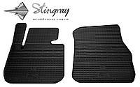 Коврики салон БМВ 4  Ф32  2013- Комплект из 2-х ковриков Черный в салон. Доставка по всей Украине. Оплата при получении