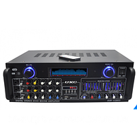 Усилитель AMP AV 1800, мощный усилитель звука amp.