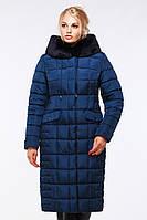 Оригинальное стеганое пальто полуприталенного кроя Лара, фото 1