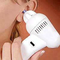 Прибор для чистки ушей ухочистка WaxVac Вакс Вак
